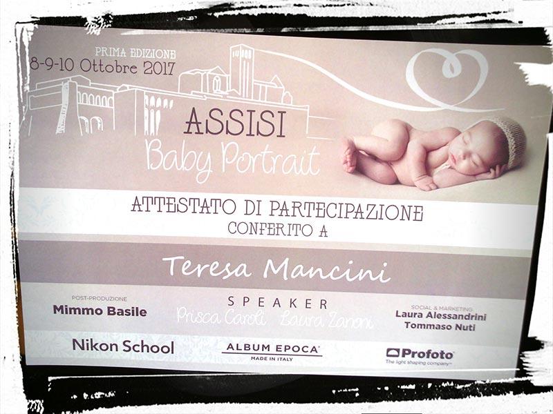©Teresa Mancini fotografa Assisi Baby Portrait 2017