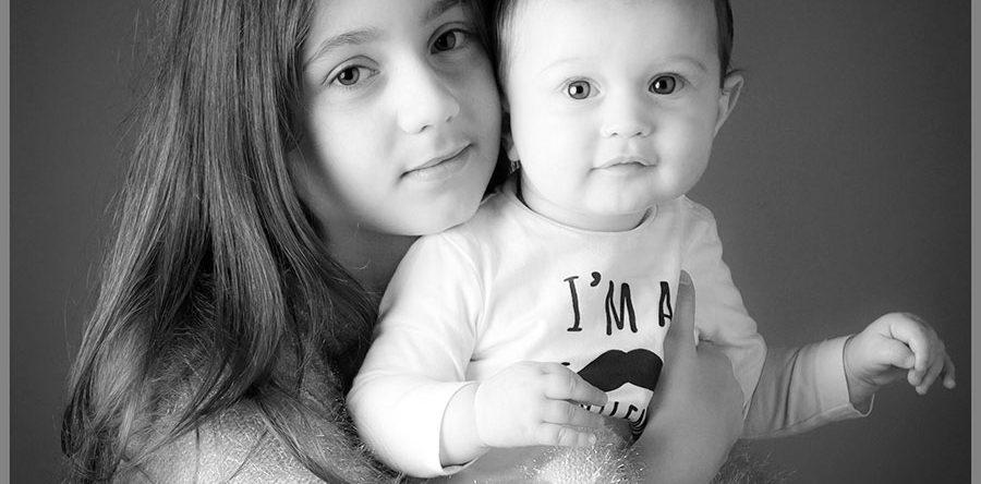 Bambini Giorgia e Gabriele
