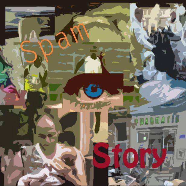 Teresa Mancini partecipa con un suo lavoro a Spam-Story