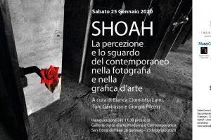 SHOAH nella fotografia e nella grafica d'arte a San Donà Di Piave