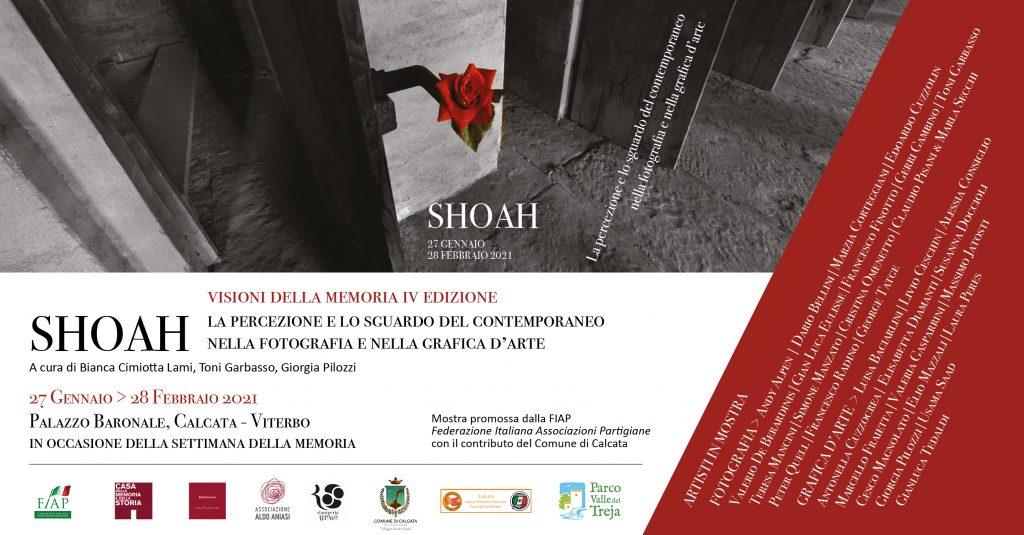 SHOAH visioni della memoria - IV edizione la percezione e lo sguardo del contemporaneo nella fotografia e nella grafica d'arte